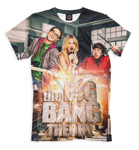 Мужская футболка Теория большого взрыва