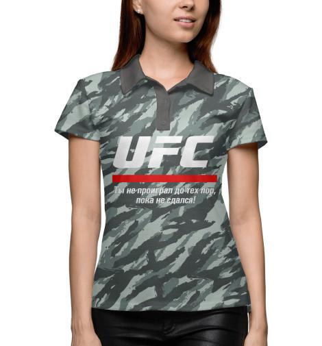 Поло Print Bar UFC комуфляж ufc 2 ps4