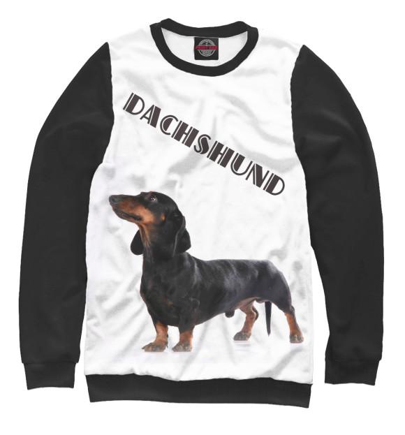 Купить Женский свитшот Dachshund DOG-236102-swi-1