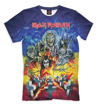 f686b6c5f403 Футболки Iron Maiden мужские, женские и детские - купить футболки с ...