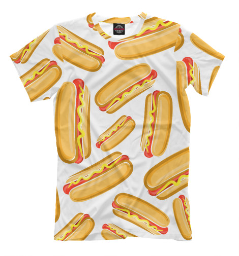 Футболка Print Bar Hot Dog худи print bar hot dog