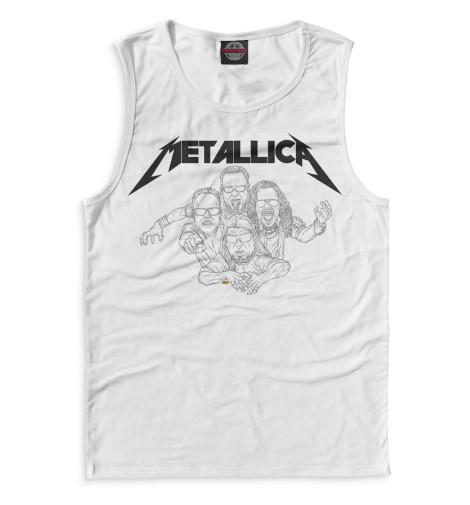 Мужская майка Metallica