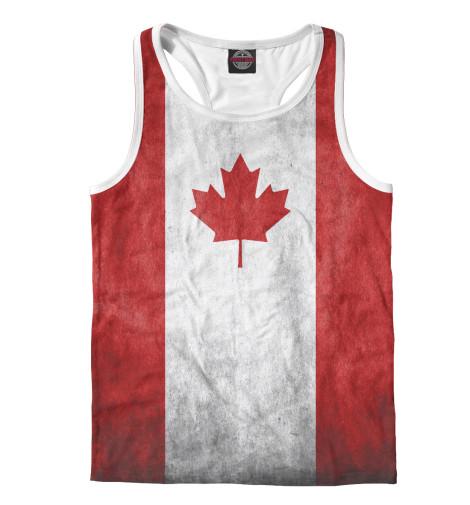 Майка борцовка Print Bar Флаг Канады флаг пограничных войск россии великий новгород
