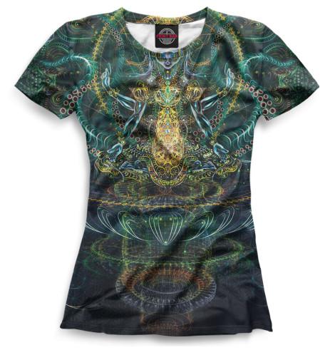Женская футболка Psyhodelic