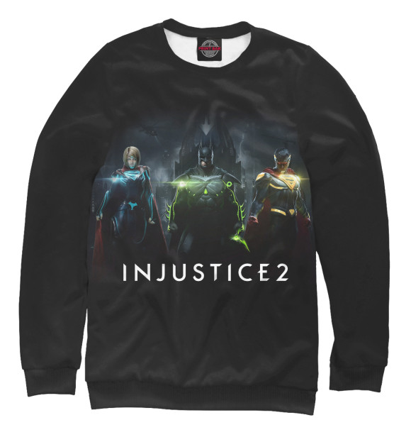 Купить Мужской свитшот Injustice 2 INJ-295174-swi-2