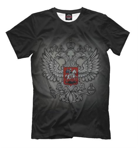 Футболка Print Bar Герб России купить герб россии от пограничного столба интернет магазин