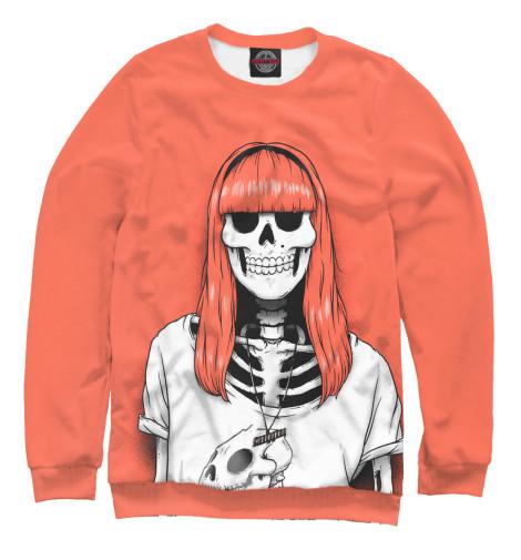 Свитшот Print Bar Девушка скелет купить в санкт петербурге ваз 2113бу