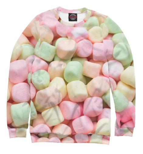 Свитшот Print Bar Разноцветный зефир