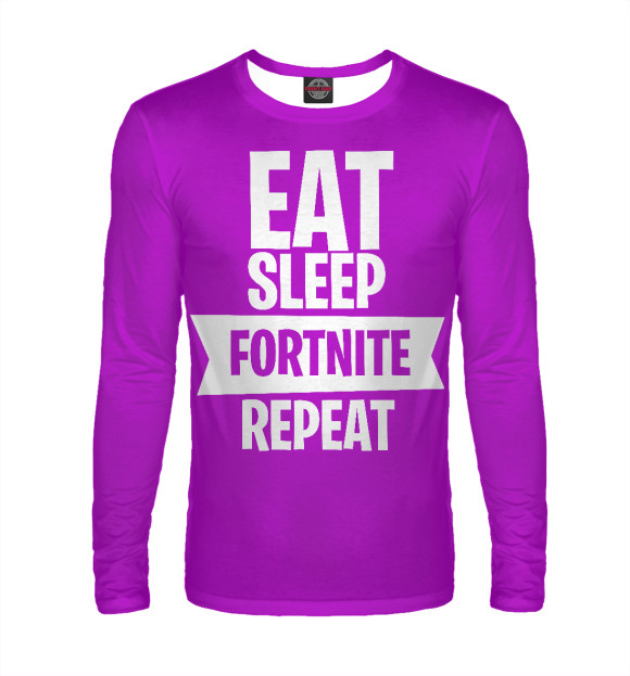 Лонгслив Eat Sleep Fortnite FTN-650332-lon-2