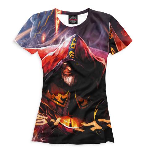 Женская футболка Warlock