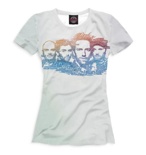 Женская футболка Coldplay