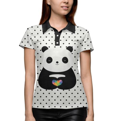 Поло Print Bar Любовь панды майка борцовка print bar любовь панды
