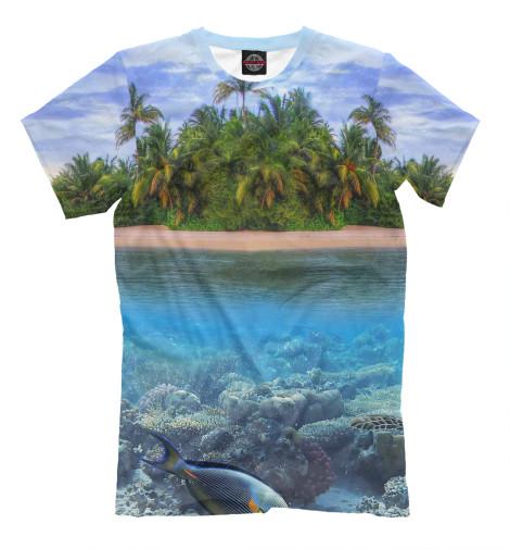 Футболка Print Bar Тропический остров