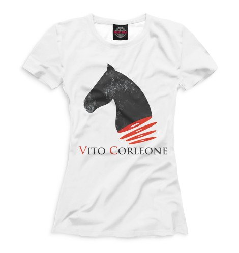 Футболка Print Bar Вито Корлеоне генератор на вито 180
