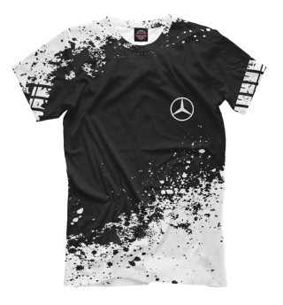 Мужская футболка Mercedes-Benz abstract sport uniform
