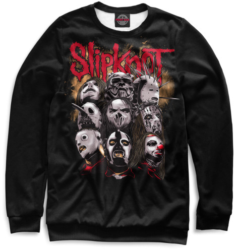 Свитшот Print Bar Slipknot