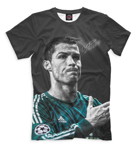 Мужская футболка Роналду