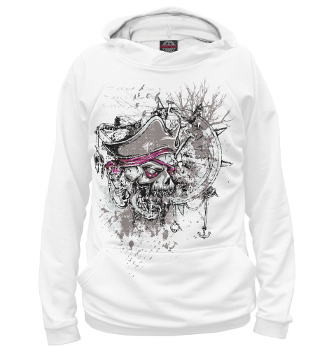 Худи Print Bar Pirate Skull bmbe табурет pirate