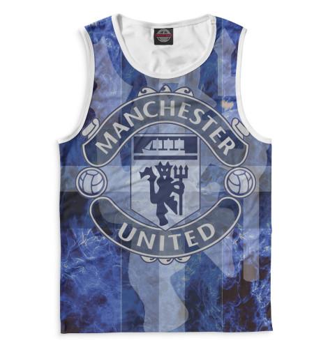 Мужская майка Manchester United герб