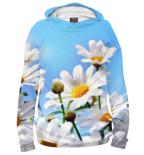 Купить Худи для девочки Ромашки CVE-288532-hud-1