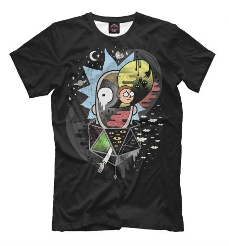 Купить Мужская футболка Рик и Морти RNM-725040-fut-2