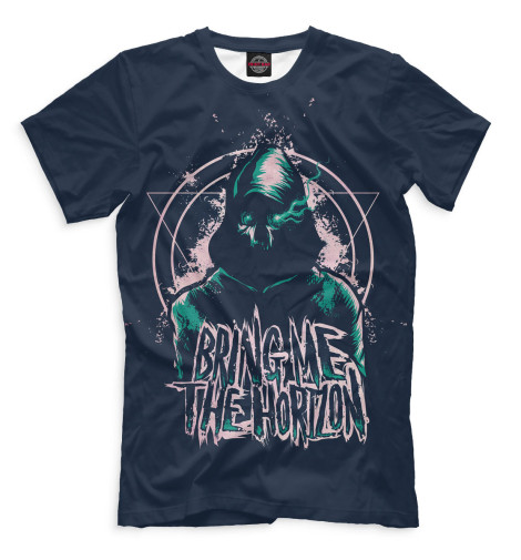 Футболка Print Bar Bring Me the Horizon футболка для беременных printio bring me the horizon