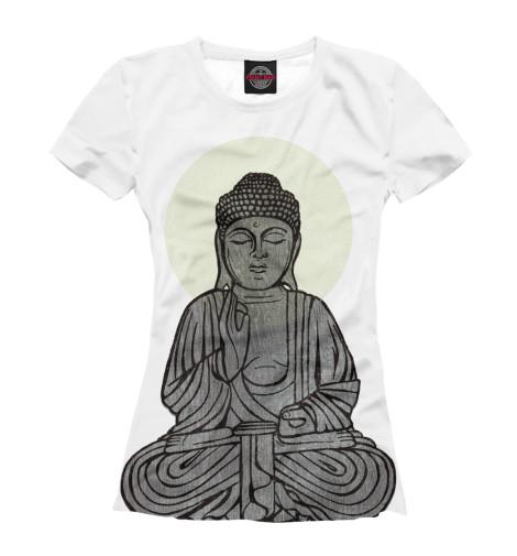 Футболка Print Bar Buddha Shakyamuni майка борцовка print bar buddha shakyamuni