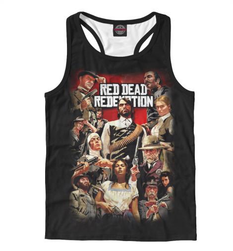 Майка борцовка Print Bar Red Dead Redemption майка борцовка print bar red dead redemption 2