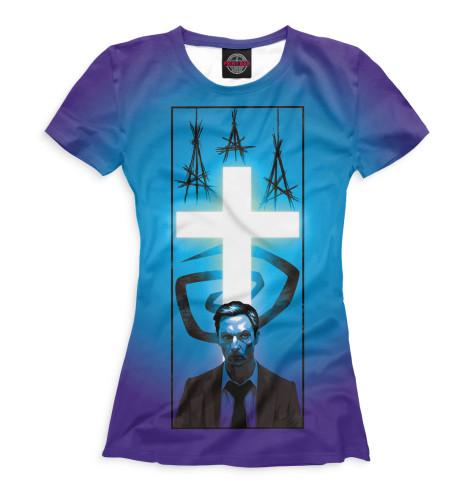 Женская футболка Раст Коул