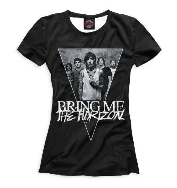 Купить Футболка для девочек Bring Me The Horizon BRI-958162-fut-1