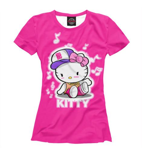 Футболка Print Bar Hello Kitty набор карандашей hello kitty 36 hb