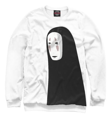 Фото - Женский свитшот Унесенные призраками от Print Bar белого цвета