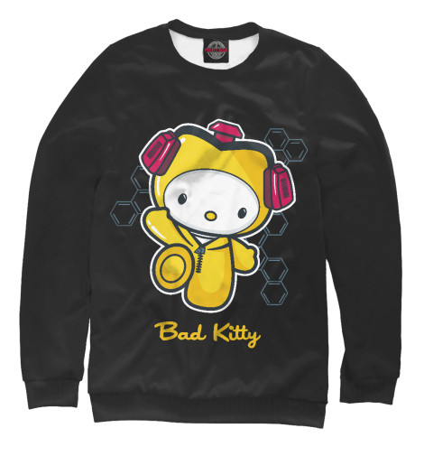 Свитшот Print Bar Bad Kitty майка классическая printio во все тяжкие braiking bad ч б