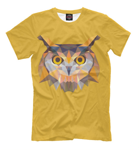Купить Мужская футболка The Owl APD-299241-fut-2