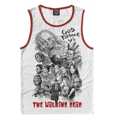 Майка Print Bar The Walking Dead худи print bar the walking dead