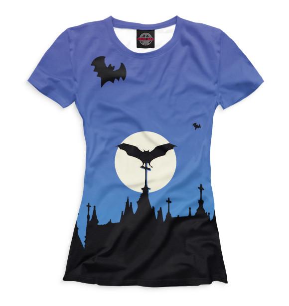 Женская футболка Halloween HAL-301129-fut-1  - купить со скидкой