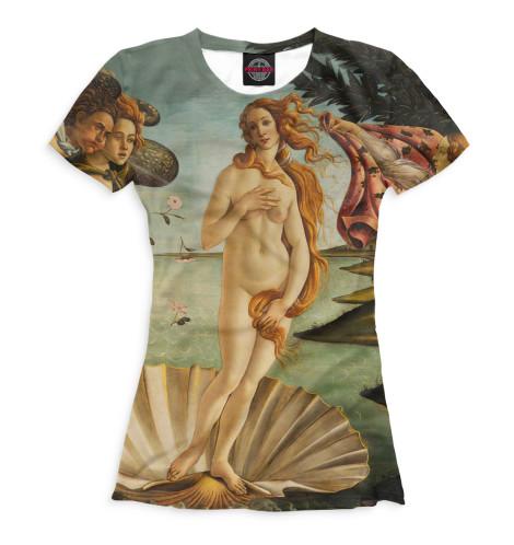 Женская футболка Рождение Венеры