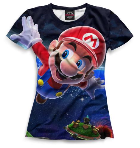 Женская футболка Mario