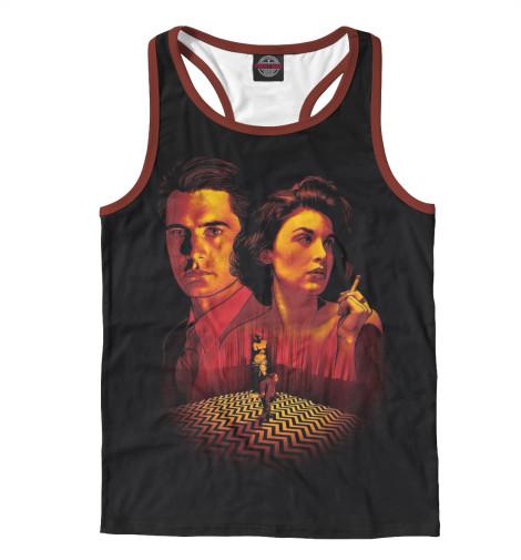 Майка борцовка Print Bar Twin Peaks майка борцовка print bar звёздный лорд