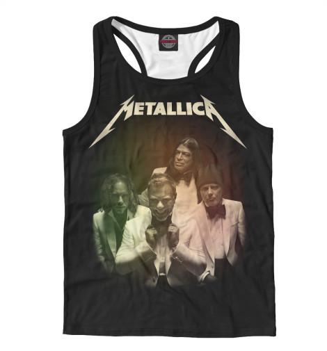Майка борцовка Print Bar Metallica майка print bar metallica hardwired   to self destruct