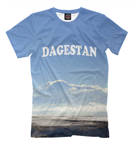 Заказ футболок с надписью Дагестан