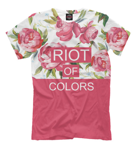 Футболка Print Bar Riot of colors quiet riot quiet riot metal health