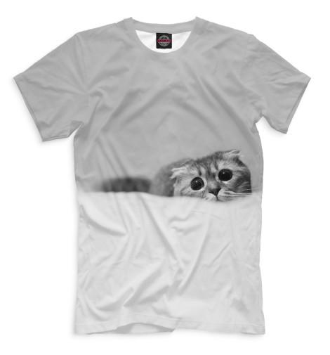 Купить Мужская футболка Коты CAT-122436-fut-2