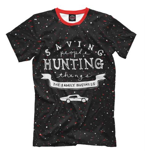 Футболка Print Bar Saving Hunting saving book