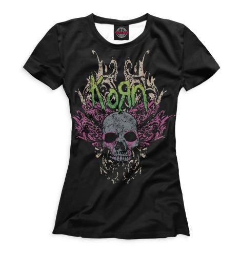 Женская футболка KoЯn