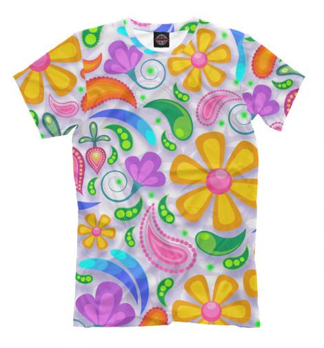 Футболка Print Bar Flower Time футболка print bar flower tropic