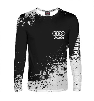 Мужской лонгслив Audi abstract sport uniform