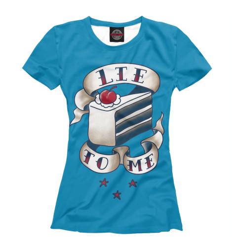 Купить Футболка для девочек Lie to me HIP-158638-fut-1