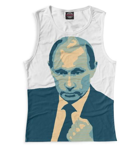 Женская майка Путин