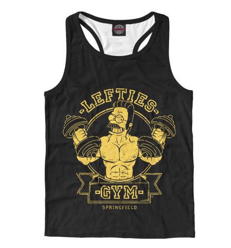 Купить Мужская майка-борцовка Springfield Gym SIM-859686-mayb-2